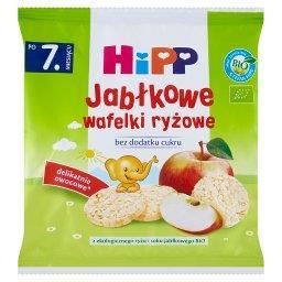 BIO Jabłkowe wafelki ryżowe po 7. miesiącu
