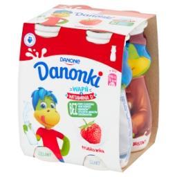 Danonki Jogurt truskawka 400 g