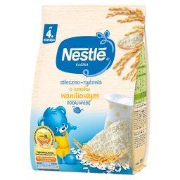 Kaszka mleczno-ryżowa o smaku waniliowym po 4 miesiącu