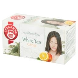 World Special Teas Herbata biała o smaku cytryny i m...