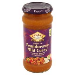 Indyjski sos pomidorowy Mild Curry z czerwoną papryk...
