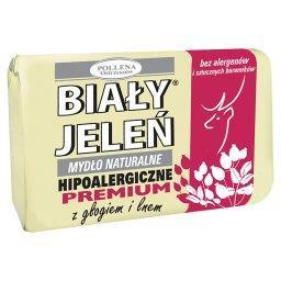 Hipoalergiczne mydło naturalne premium z głogiem i lnem