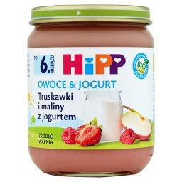 BIO Owoce & Jogurt Truskawki i maliny z jogurtem po 6. miesiącu
