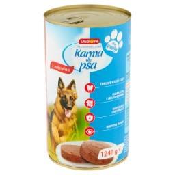 Pełnoporcjowa karma dla dorosłych psów mielonka z wołowiną
