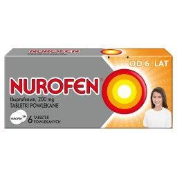 Od 6 lat 200 mg Tabletki powlekane 6 tabletek
