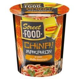 Street Food China! Makaron w sosie słodko-kwaśnym