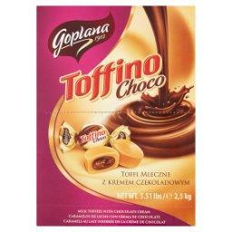 Toffino Choco Toffi mleczne z kremem czekoladowym