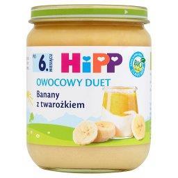 BIO Owocowy Duet Banany z twarożkiem po 6. miesiącu