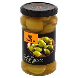 Zielone oliwki z migdałami
