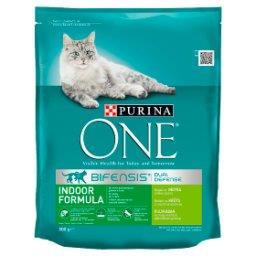 Indoor Formula Karma dla dorosłych kotów bogata w indyka i pełne ziarna