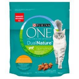 Dual Nature Spirulina Karma dla dorosłych kotów kurczak jako pierwszy składnik