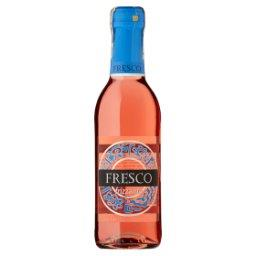 Frizzante Wino różowe półsłodkie półmusujące polskie