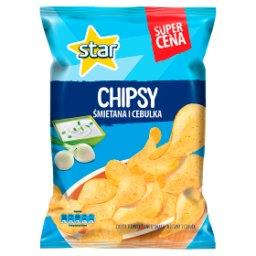 Chipsy śmietana i cebulka