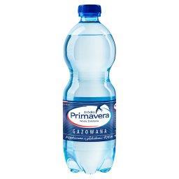 Woda źródlana gazowana
