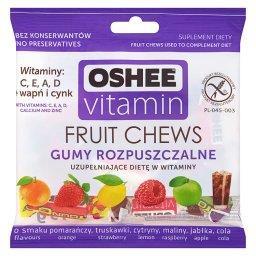 Vitamin Gumy rozpuszczalne o smaku wieloowocowym Suplement diety