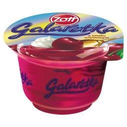 Galaretka o smaku wiśniowym