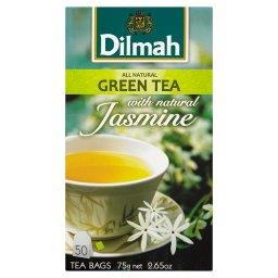 Zielona herbata z kwiatami jaśminu 75 g (50 torebek)