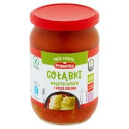 Gołąbki wegetariańskie z kaszą jaglaną
