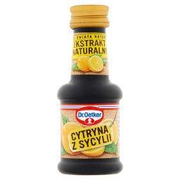 Ze świata natury Ekstrakt naturalny cytryna z Sycylii