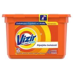 Alpine Fresh Kapsułki do prania, działanie Allin1, 14 prań
