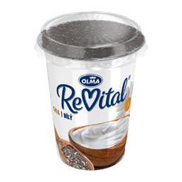 Revital jogurt naturalny z nasionami chia w toperze 140g
