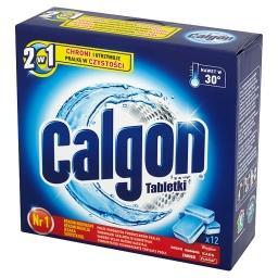 2w1 Tabletki Zmiękczacz wody  (12 sztuk)