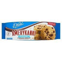 Amerykanki klasyczne Kruche ciastka z kawałkami czek...