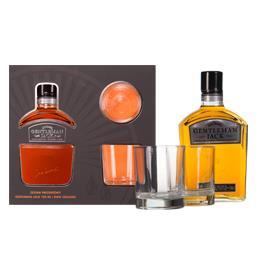 Gentleman Jack whiskey 40% 0,7l ze szklankami