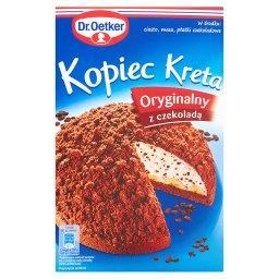 Kopiec Kreta Oryginalny z czekoladą Ciasto