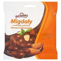 Migdały w mlecznej czekoladzie