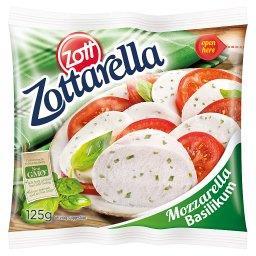 Arella Ser mozzarella z bazylią 125 g