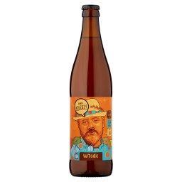 Piwo jasne pszeniczne niefiltrowane
