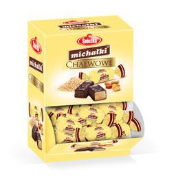 Cukierki czekoladowe Michałki chałwowe, produkt wagowy