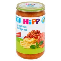 BIO Spaghetti Bolognese po 11. miesiącu