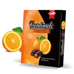 Galaretki Cardinal o smaku pomarańczowym 180g