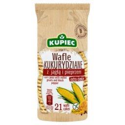 Wafle kukurydziane z jagłą i pieprzem  (21 sztuk)