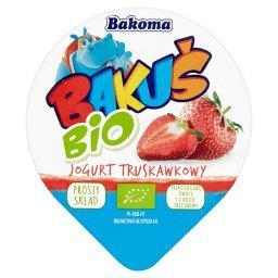 Bakuś BIO Jogurt truskawkowy
