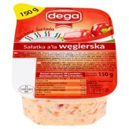 Kuchnie Świata Sałatka a'la węgierska