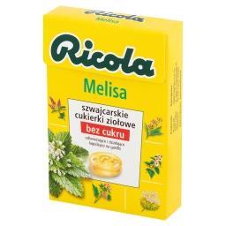 Melisa szwajcarskie cukierki ziołowe
