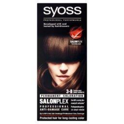 SalonPlex Farba do włosów słodki brąz 3-8