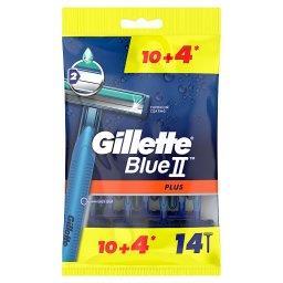 Blue II Plus Maszynki jednorazowe dla mężczyzn 14 sztuk