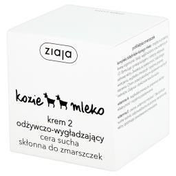 Kozie mleko Krem 2 odżywczo-wygładzający cera sucha ...