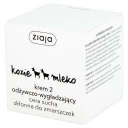 Kozie mleko Krem 2 odżywczo-wygładzający cera sucha skłonna do zmarszczek