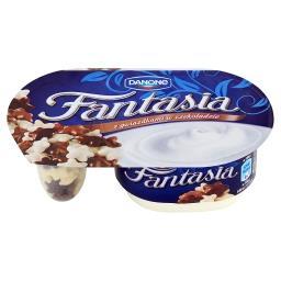 Fantasia Jogurt kremowy z gwiazdkami w czekoladzie