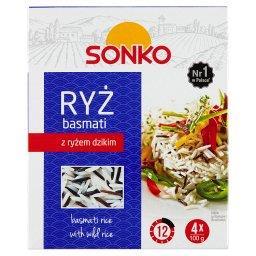 Ryż basmati z dzikim 400 g (4 torebki)