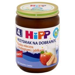 BIO Przysmak na Dobranoc Kaszka mleczna z biszkoptami i jabłkami po 4. miesiącu