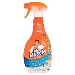Łazienka 5w1 Orange Płyn w rozpylaczu do czyszczenia i dezynfekcji łazienki