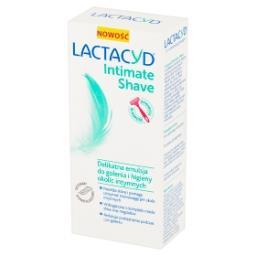 Intimate Shave Delikatna emulsja do golenia i higieny okolic intymnych