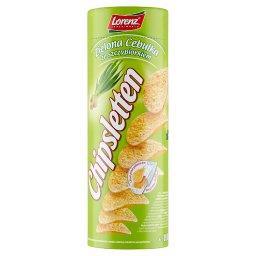 Zielona cebulka ze szczypiorkiem Chipsy ziemniaczane