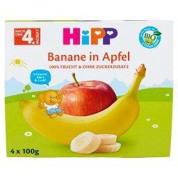 BIO Owocowa Chwila Jabłka-Banany po 4. miesiącu 400 g
